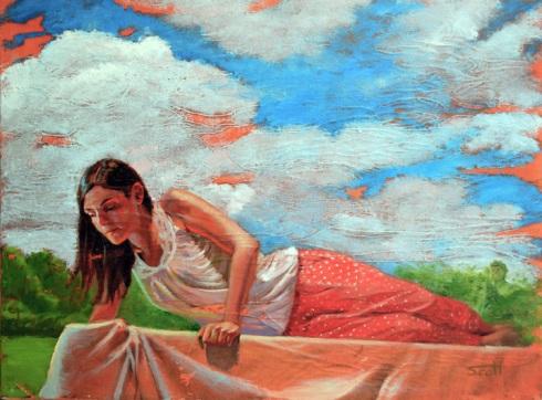 Princess and the Pea by Deborah Scott