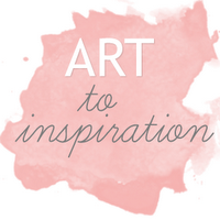Art to Inspiration Square Button