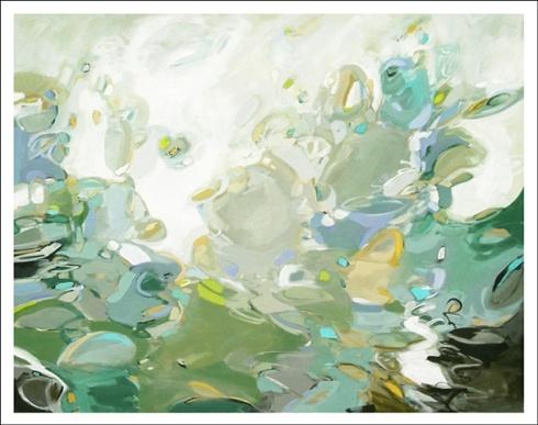 Blueberry Martini, acrylic on canvas, 60x48