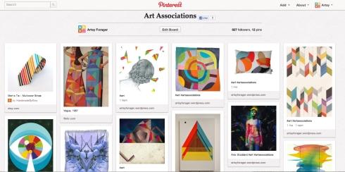 Artsy Forager's Art Associations board